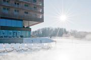 LOISIUM Wine & Spa Resort Südsteiermark - Aussenbereich Winter © LOISIUM Wine & Spa Resort Südsteiermark