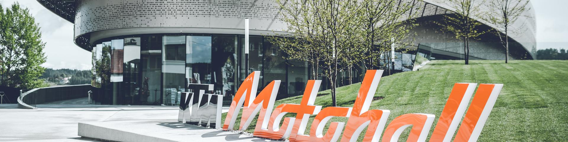 KTM Motohall - Außenansicht © KTM Motohall