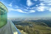 Suite Hotel Kahlenberg - Blick Terrasse Ellipse auf Wien © Kahlenberg