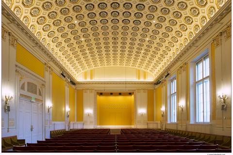 Wiener Konzerthaus - Schubert hall © Lukas Beck