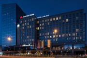 Austria Trend Hotel Ljubljana - Aussenansicht bei Nacht © Austria Trend Hotels