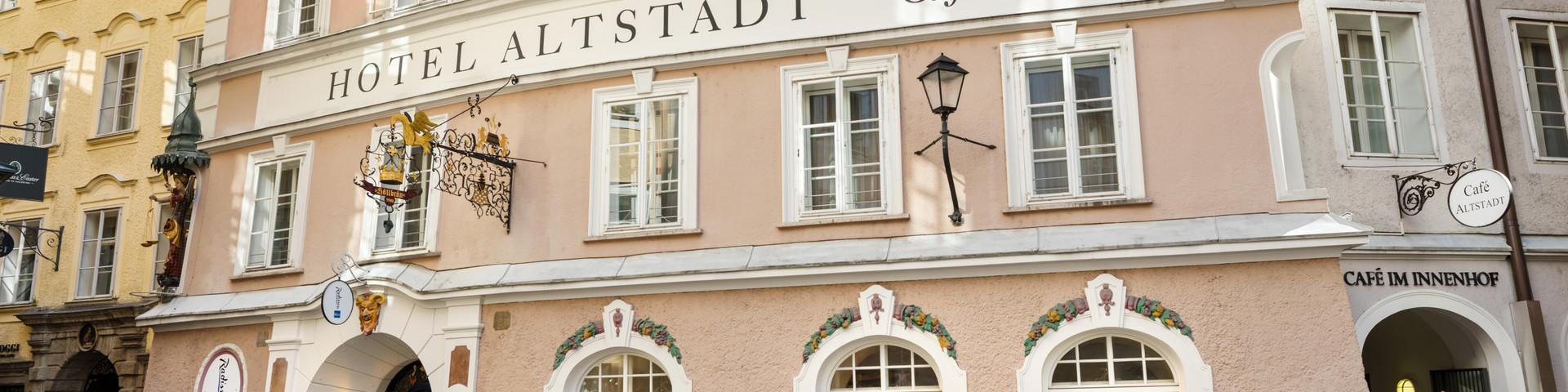 Radisson Blu Hotel Altstadt - Aussenansicht © Austria Trend Hotels