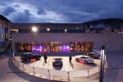 Ferry Porsche Congress Center - Rückansicht bei Nacht © Ferry Porsche Congress Center