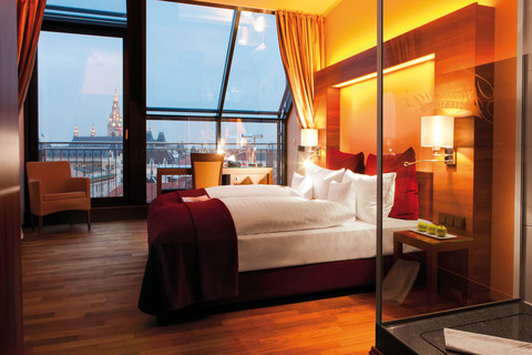 Fleming's Deluxe Hotel Wien-City - City View Deluxe Room © Fleming's Hotels & Restaurants