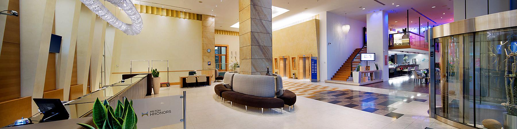 Hilton Budapest City - Lobby © Hilton Budapest City