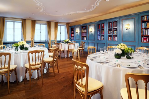 Hotel Goldener Hirsch - Library © Hotel Goldener Hirsch, a Luxury Collection Hotel, Salzburg