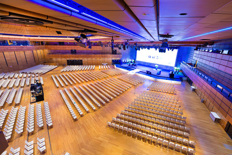 Austria Center Vienna - Saal A © IAKW-AG Ludwig Schedl