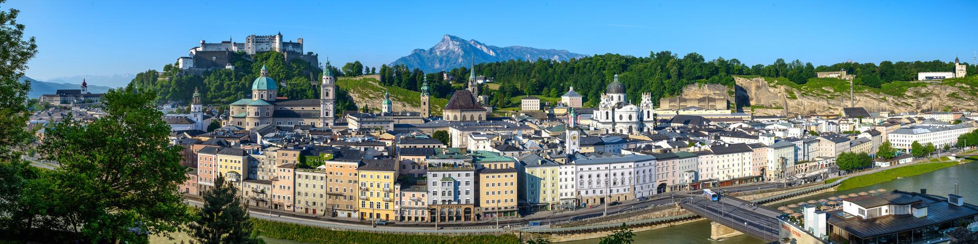 Salzburg Panorama © Tourismus Salzburg GmbH