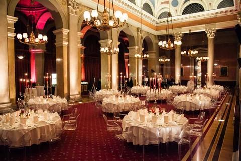 Wiener Börsensäle - Dinner at banquet hall © Börsensäle, Wien