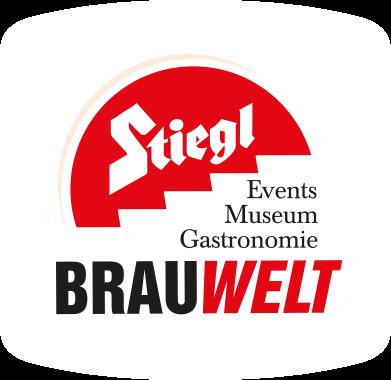 Stiegl Brauwelt Logo Bierdeckel © Stiegl Brauwelt