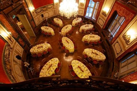 Palais Daun-Kinsky - Ovaler Festsaal, Galadinner © Palais Daun-Kinsky, Wien