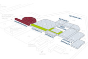 Messezentrum Salzburg - 3D-Site plan