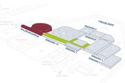 Messezentrum Salzburg - 3D-Geländeplan