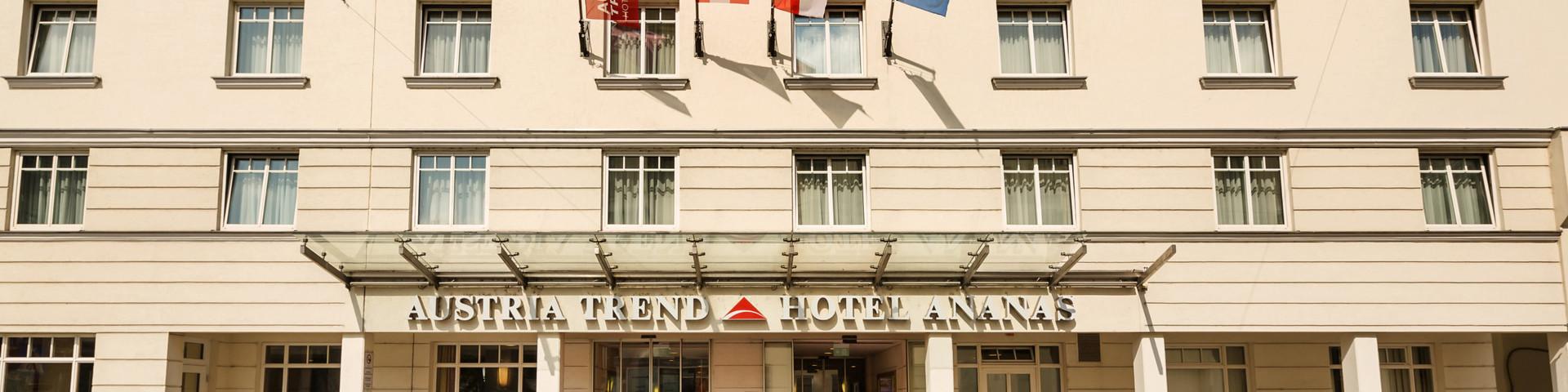 Austria Trend Hotel Ananas - Aussenansicht 2 © Austria Trend Hotels