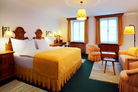 Hotel Goldener Hirsch - Exclusive room © Hotel Goldener Hirsch, a Luxury Collection Hotel, Salzburg