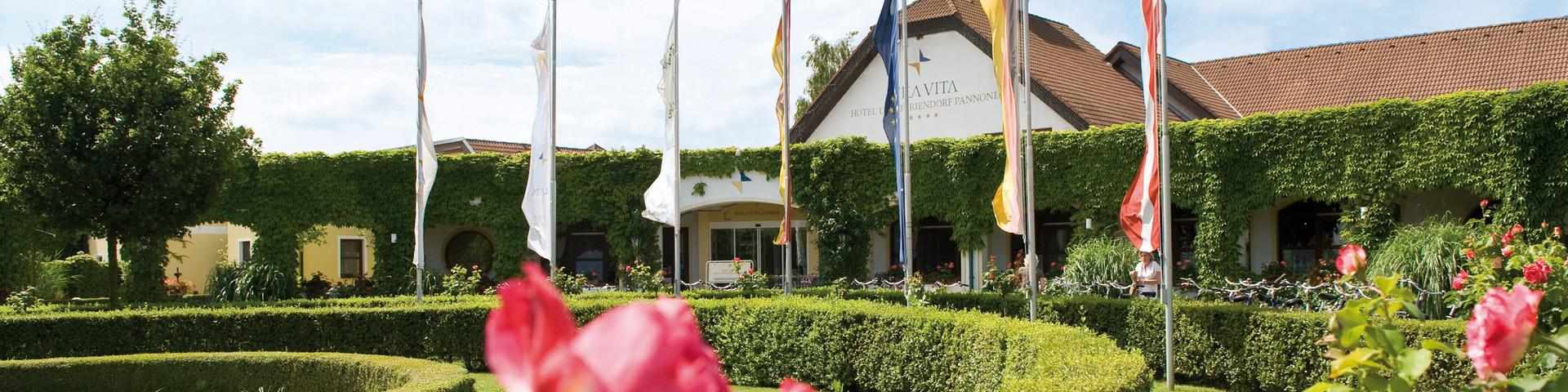 Vila Vita Pannonia - Aussenansicht © Vila Vita Pannonia