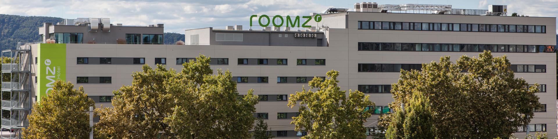 roomz Graz - Aussenansicht © Kurt Hoerbst