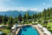 Interalpen-Hotel Tyrol - Aupenpool im Sommer © Interalpen Hotel-Tyrol