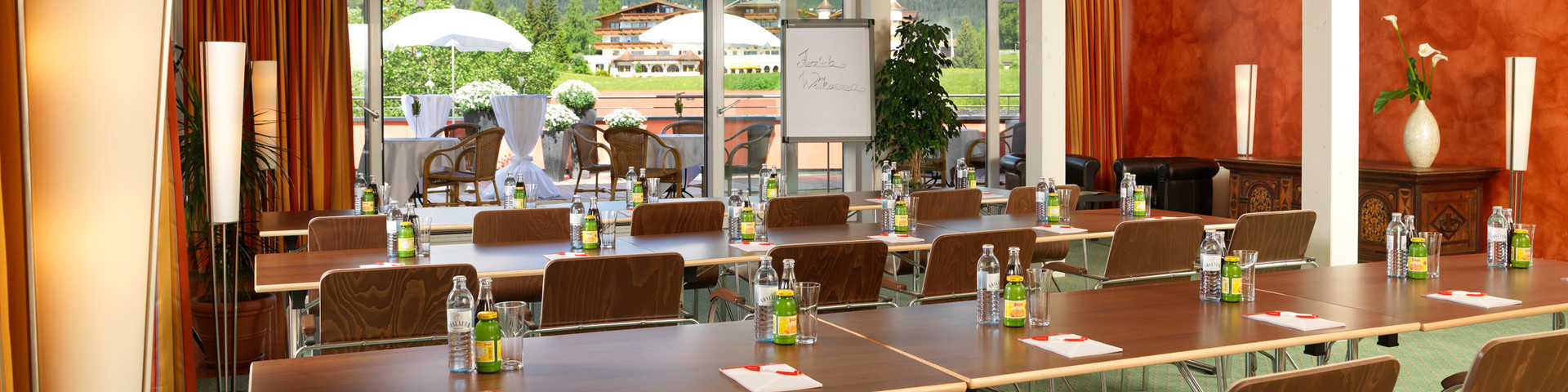 Das Hotel Eden - Seminarraum Seefelderspitz 2 © Das Hotel Eden