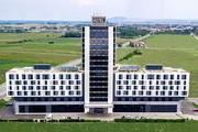 Pannonia Tower Hotel - Drohnenaufnahme Aussenansicht 2019 © Pannonia Tower Hotel
