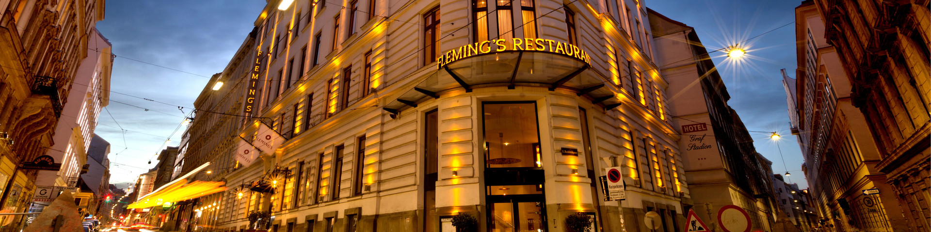 Fleming's Selection Hotel Wien City - Außenansicht Nacht © Fleming's Selection Hotel Wien City