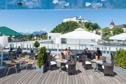 UNIKUMSKY - Terrasse © JUFA Hotels