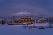 Ritzenhof - Aussenansicht Winter © Stefan Gimpl