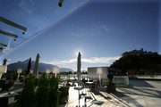 UNIKUMSKY - Terrasse Abend © JUFA Hotels