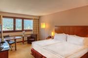 Hilton Innsbruck - King Mountain View Deluxe Zimmer © Hilton Innsbruck
