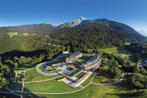 Kempinski Hotel Berchtesgaden - Panorama Eagle's Nest Watzmann © Kempinski Hotel Berchtesgaden