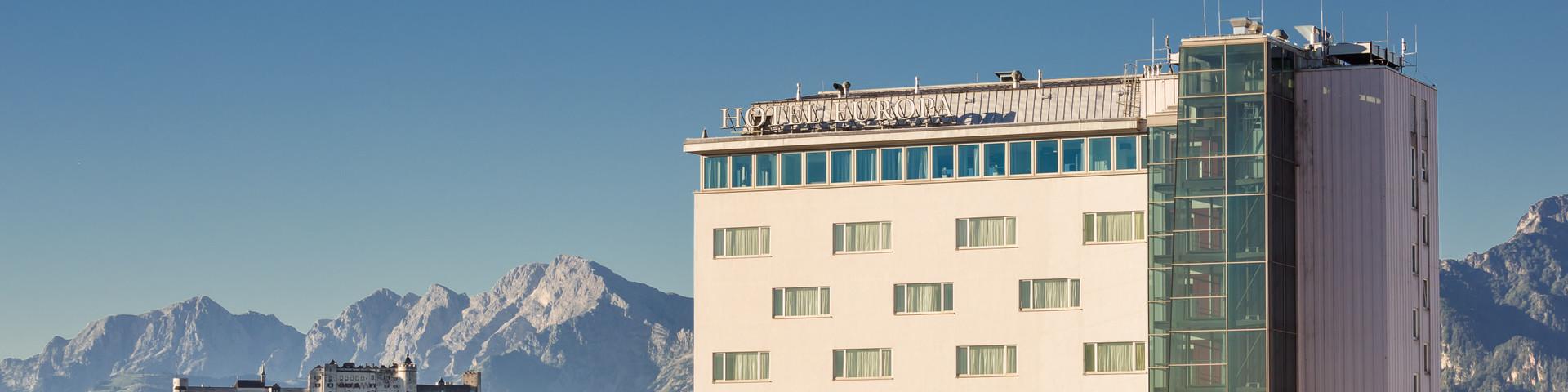 Austria Trend Hotel Europa Salzburg - Aussenansicht © Austria Trend Hotels