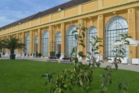 Schloß Schönbrunn Orangerie - Terrasse © Schloß Schönbrunn Kultur- und BetriebsgmbH