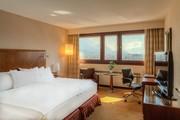 Hilton Innsbruck - Panorama Mountain View Suite Schlafzimmer © Hilton Innsbruck