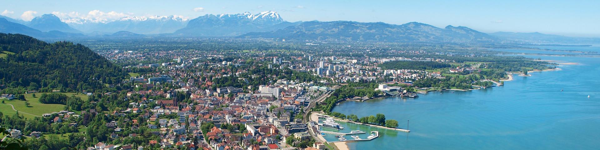 Bregenz Panorama © Curt Huber