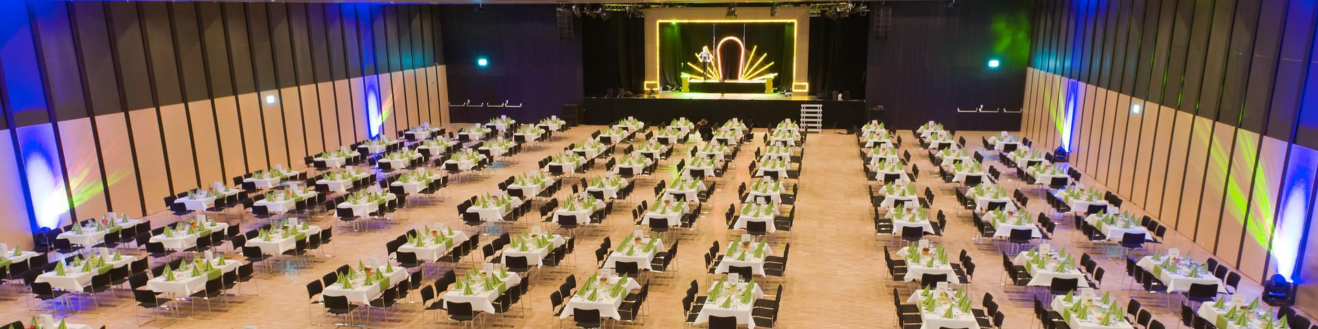 Congress Messe Innsbruck - Saal Forum 1_Standort Messe Innsbruck © CMI