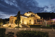 Congress Casino Baden - CCB Hausansicht Abend 2015 © Congress Casino Baden Christian Husar