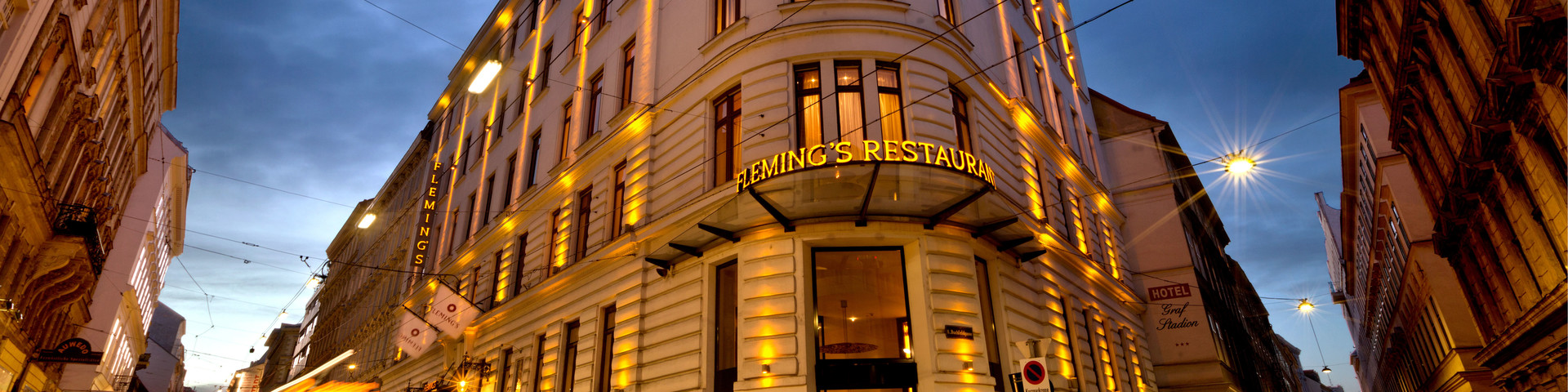 Fleming's Selection Hotel Wien City - Außenansicht Nacht © Fleming's Selection Hotel Wien City