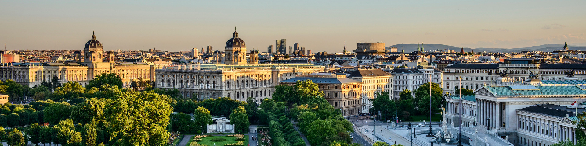 Wien - Blick auf den Volksgarten © WienTourismus - Christian Stemper