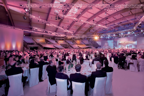 Exhibition and Congress Center Salzburg - Gala evening © Kaindl-Hönig