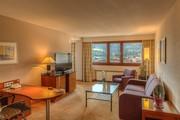Hilton Innsbruck - Panorama Mountain View Suite Wohnraum © Hilton Innsbruck