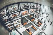 KTM Motohall - Ausstellung © KTM Motohall