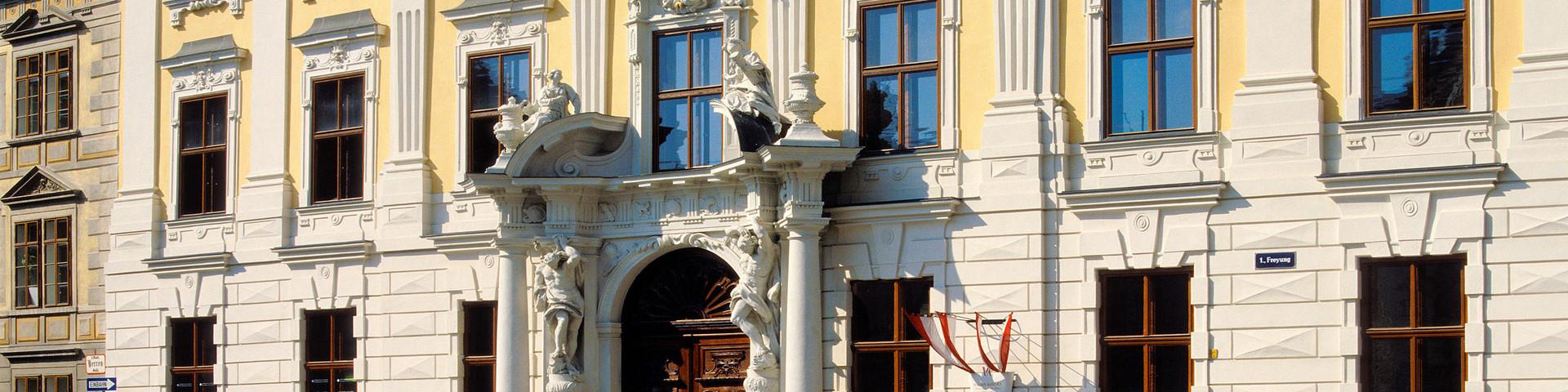 Palais Daun-Kinsky - Aussenansicht © Palais Daun-Kinsky, Wien