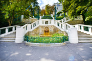 Palais Strudlhof - Garten Aufgang © Palais Strudlhof