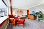 IC Budapest - Executivesuite mit Donaublick © Intercontinental Budapest