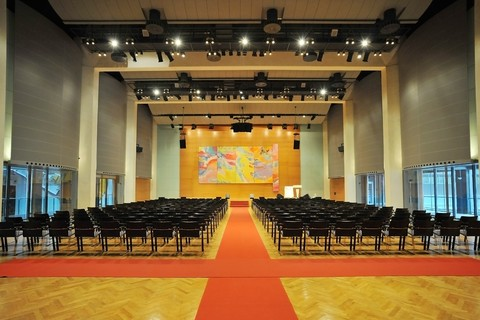 Congress Messe Innsbruck - Saal Innsbruck_Location Congress Innsbruck © CMI