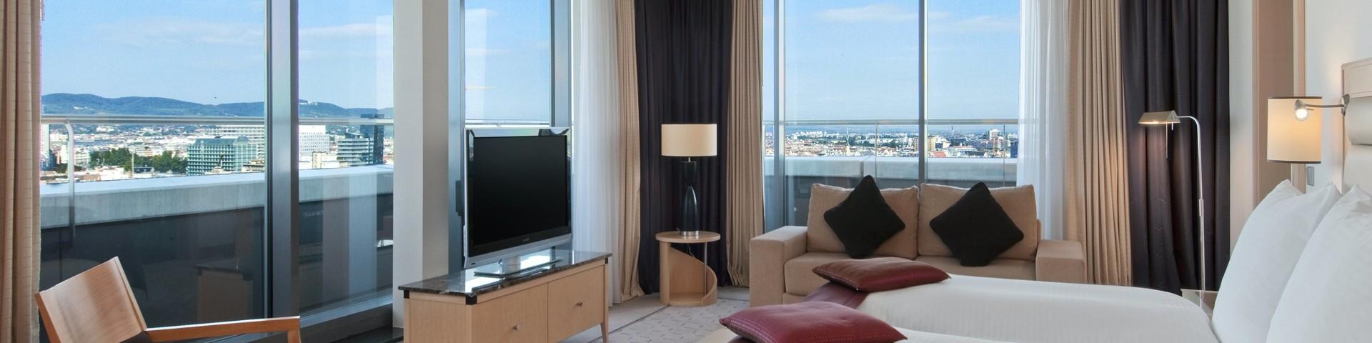 Hilton Vienna - Präsidenten Suite Schlafraum © Hilton Vienna