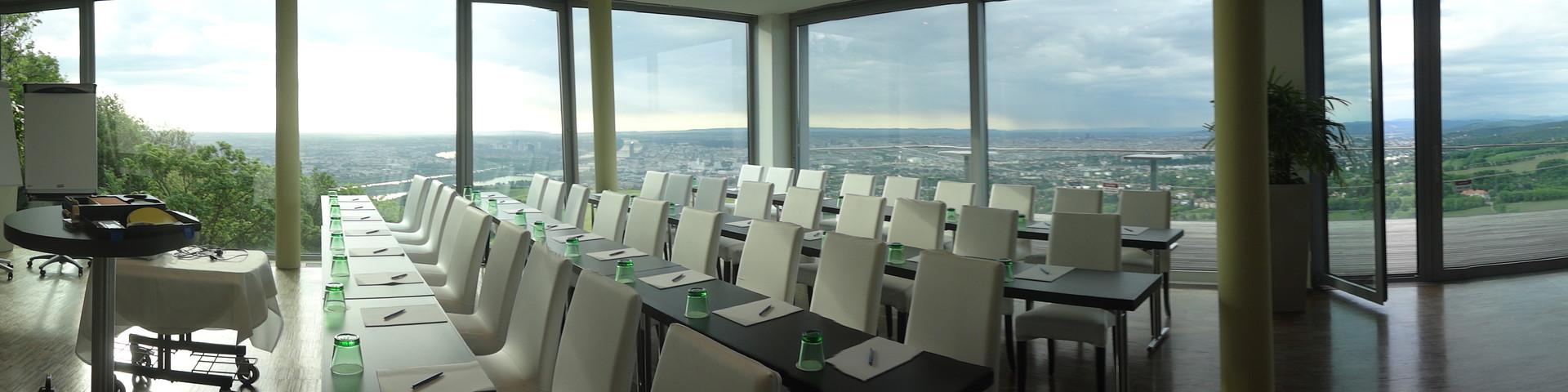 Suite Hotel Kahlenberg - Seminar Panorama & Terrasse © Kahlenberg