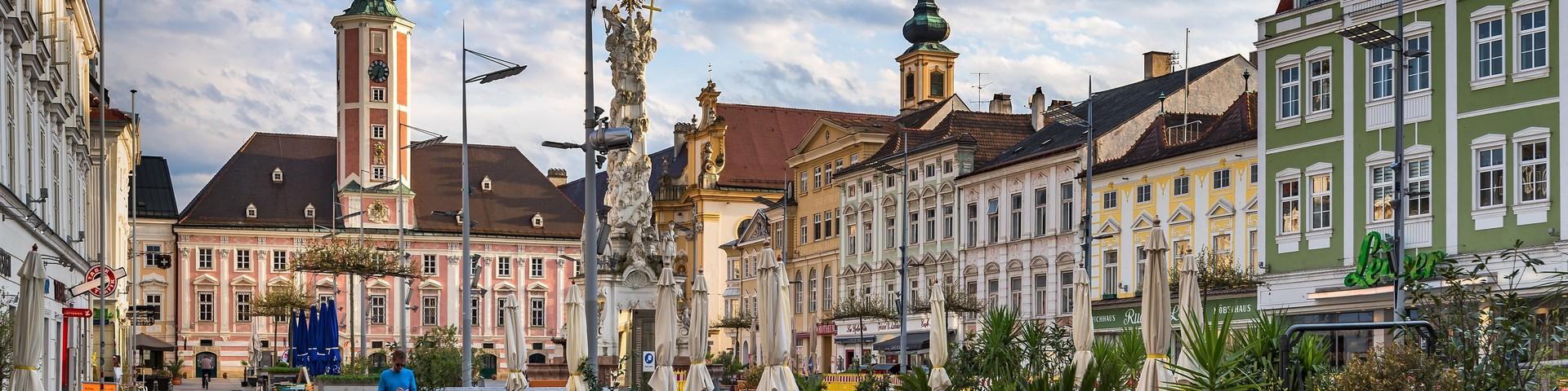St. Pölten - Rathausplatz © SEPAMedia