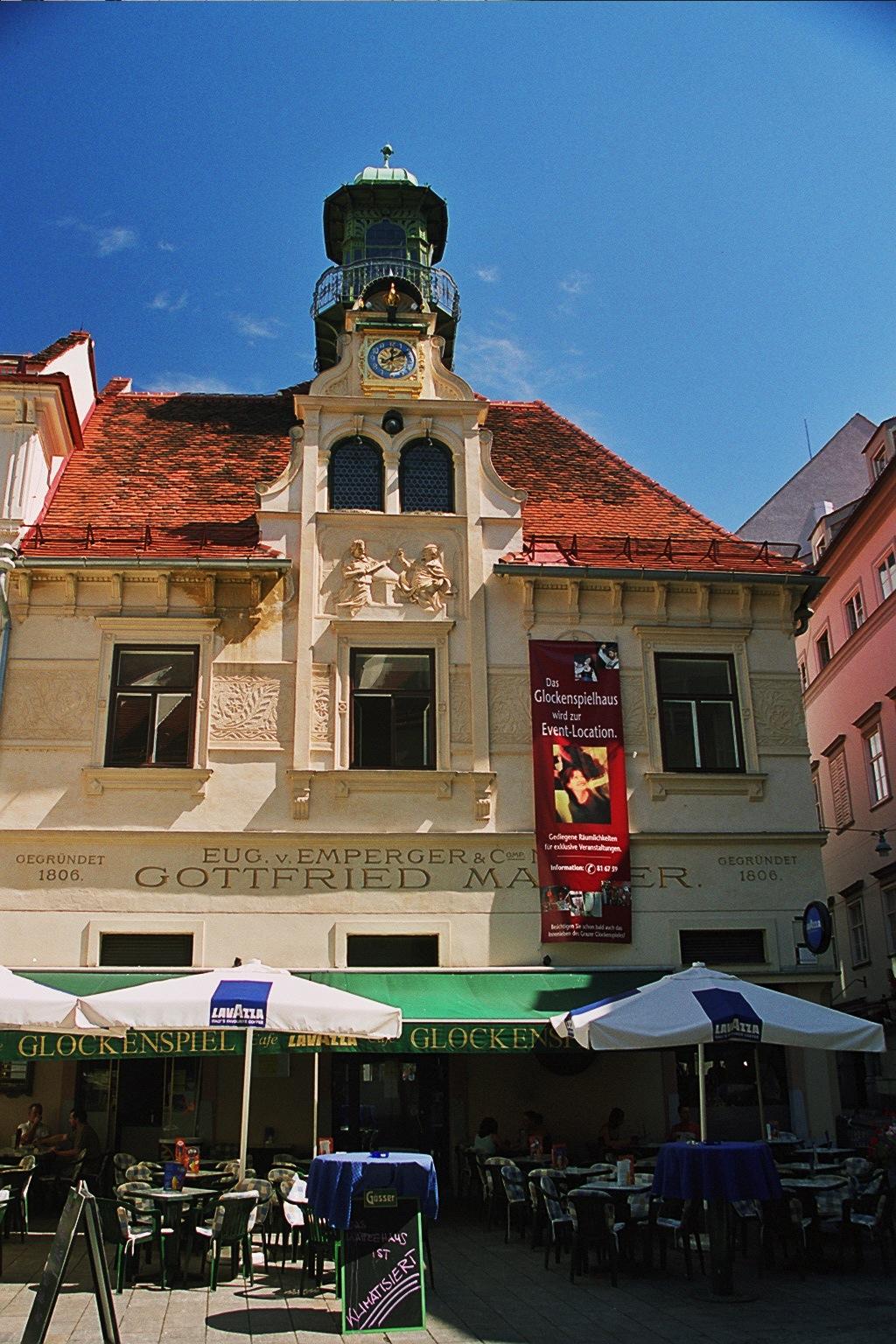 The Glockenspiel - Event Location in Graz