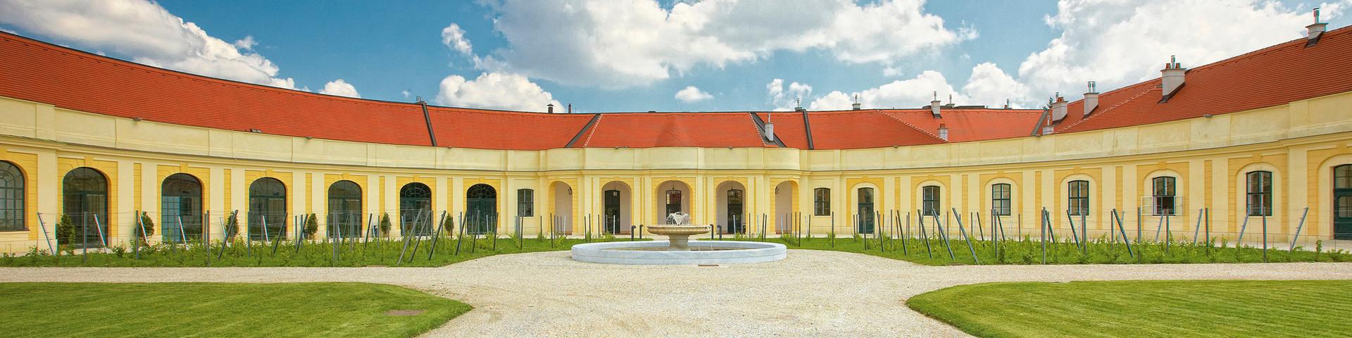 Schloß Schönbrunn Apothekertrakt - Aussenansicht © Schloß Schönbrunn Kultur- und BetriebsgesmbH